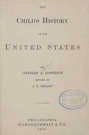 Cover of: The child's history of the United States