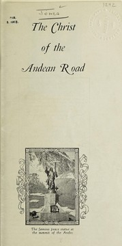 Cover of: The Christ of the Andean road | E. Stanley Jones