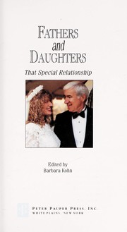 Cover of: Fathers and daughters | edited by Barbara Kohn.
