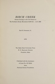 Cover of: Birch Creek | Swanson, Earl H. Jr