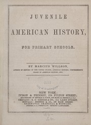 Cover of: Juvenile American history