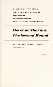 Cover of: Revenue sharing