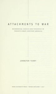 Cover of: Attachments to war | Jennifer Terry