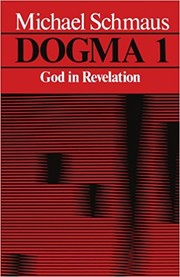 Cover of: Dogma 1: God In Revelation