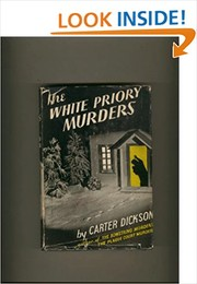 Cover of: The white priory murders