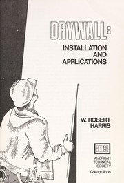 Cover of: Drywall, installation and applications