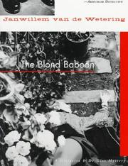Cover of: The blond baboon: a novel