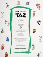 Cover of: Look and Find Taz