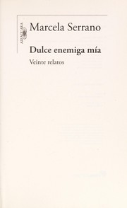 Cover of: Dulce enemiga mía