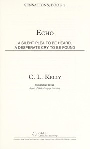 Cover of: Echo