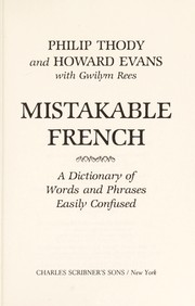 Cover of: Mistakable French