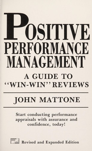 Positive Performance Management by