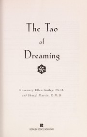 Cover of: The Tao of dreaming