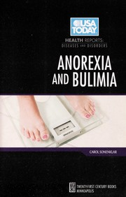 Cover of: Anorexia and bulimia