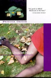 Cover of: The unquiet night