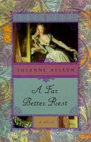 Cover of: A far better rest