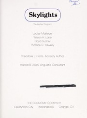 Cover of: Skylights (The Keytext Program) |