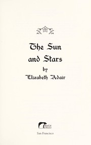 Cover of: The sun and stars