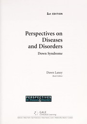 Cover of: Down Syndrome (Perspectives on Diseases and Disorders) |