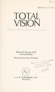 Cover of: Total Vision | Richard Kavner