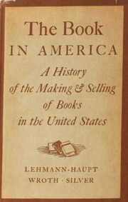 Cover of: The Book in America |
