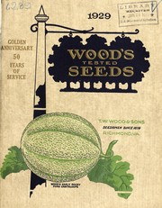 Cover of: 1929 Wood
