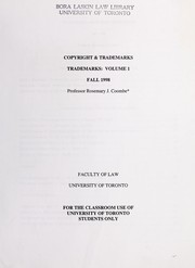 Cover of: Copyright & trademarks