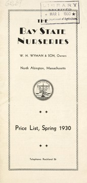 Cover of: Price list, spring 1930