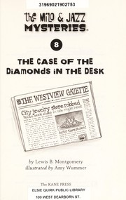 Cover of: The case of the diamonds in the desk