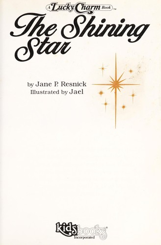 The shining star by Jane Parker Resnick