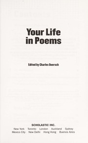 Cover of: Your life in poems | Charles Doersch