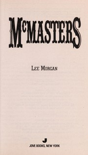 Cover of: Mcmasters | Lee Morgan