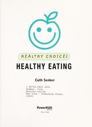 Cover of: Healthy eating | Cath Senker