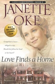 Cover of: Love finds a home | Janette Oke