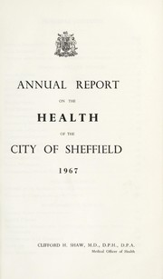 Cover of: [Report 1967] | Sheffield (England). City Council