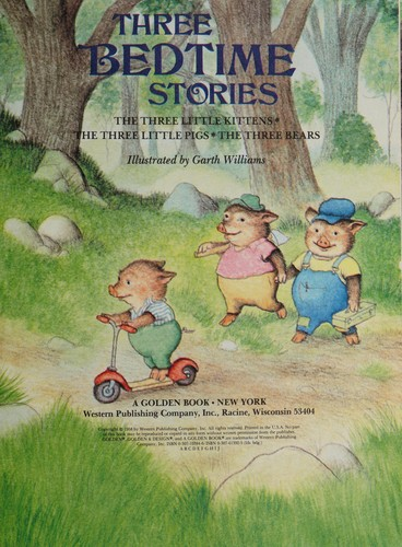 Three Bedtime Stories/Big Stor by Golden Books