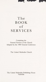 Cover of: The book of services