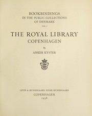 Cover of: The Royal library, Copenhagen | Anker Kyster