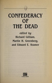 Cover of: A Confederacy of the dead |