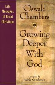Cover of: Growing deeper with God
