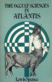 Cover of: The occult sciences in Atlantis