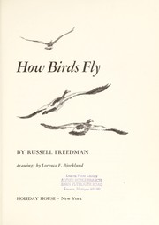 Cover of: How birds fly