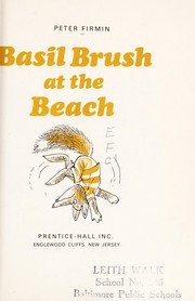 Cover of: Basil Brush at the beach | Peter Firmin