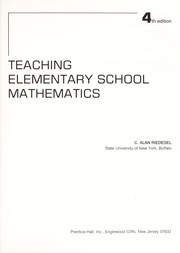 Cover of: Teaching elementary school mathematics | C. Alan Riedesel