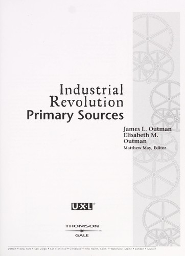 Industrial Revolution by James L. Outman