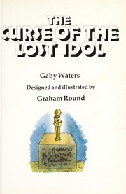 Cover of: The Curse of the Lost Idol (Puzzle Adventures) |