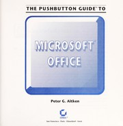 Cover of: The pushbutton guide to Microsoft Office