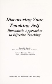 Cover of: Discovering your teaching self