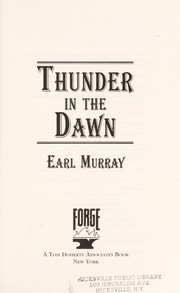 Cover of: Thunder in the dawn
