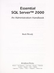 Cover of: Essential SQL Server 2000